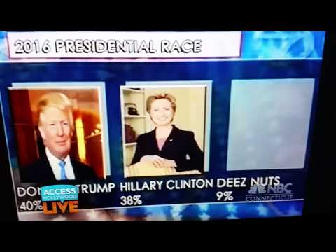 Deez Nuts is running for president!