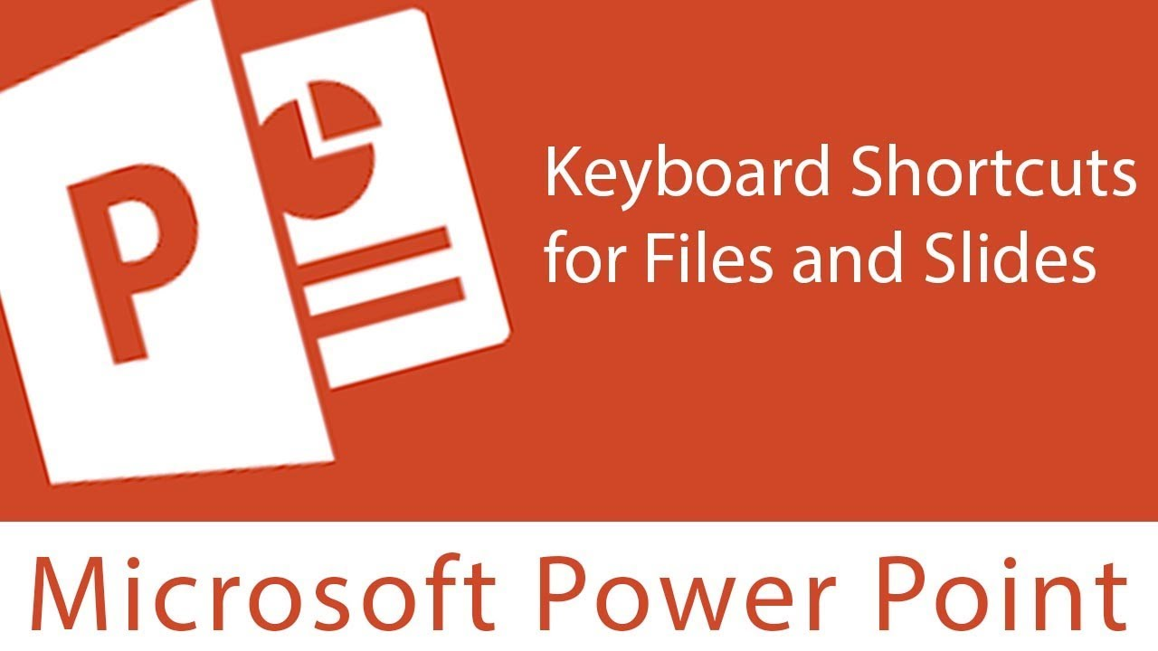 83aadb5c0514 Powerpoint   Keyboard Shortcuts for Files and Slides - YouTube