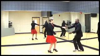 Likewise: dances a little touch of ballroom # 2 with the lady in a red dress.