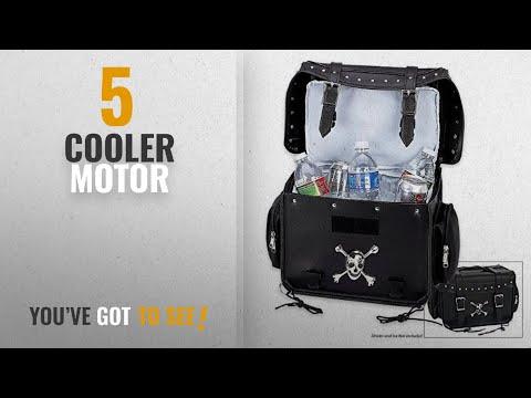 Top 10 Cooler Motor [2018]: Diamond Plate Motorcycle Cooler Bag W/ Skull