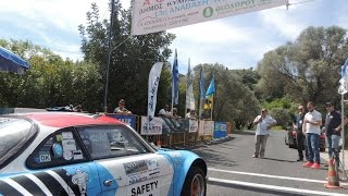 13th kymi hill climb 2015 alpine a110 griv safety car