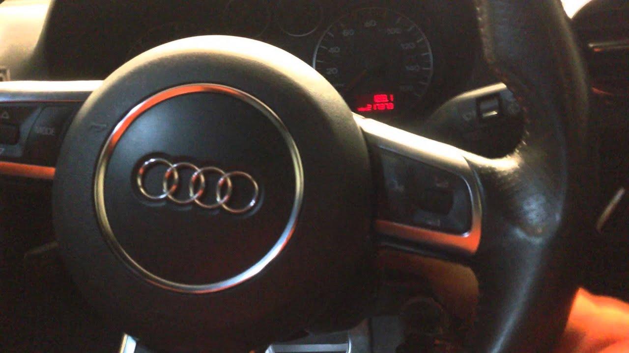 Custom folding mirrors on Audi A3