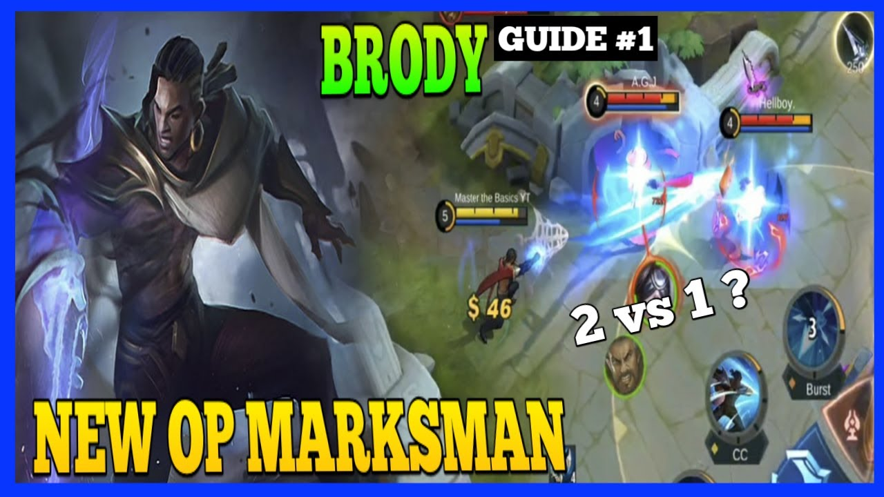 How to use Brody Properly | Master the Basics | Brody Gameplay | MLBB