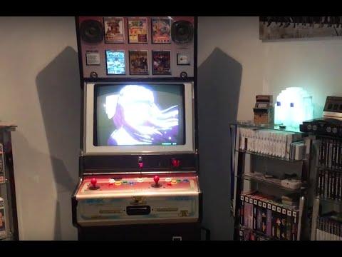 Neo Geo MVS Electrocoin Arcade 6 Slot Restore Progress