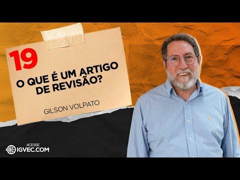 PV019 - O que é um artigo de revisão - Gilson Volpato - 2012
