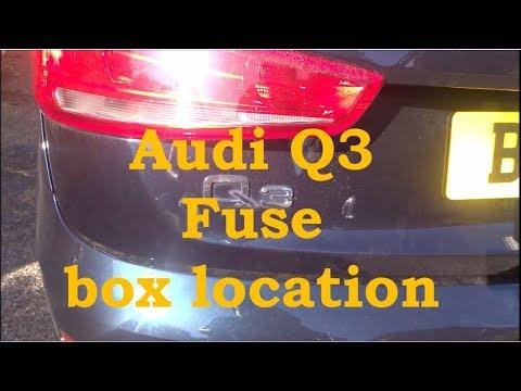 Audi Q3 fuse location - YouTube | Audi Q3 Fuse Box |  | YouTube