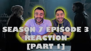 "Game of Thrones Season 7 Episode 3 [Part 1] REACTION!! ""The Queen's Justice"""