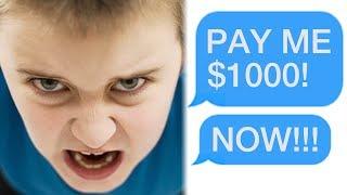 r/Choosingbeggars Spoiled Brat DEMANDS $1000 from Stranger! Funny Reddit Posts