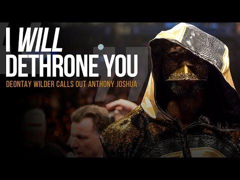 Wilder wyzywa na pojedynek Joshuę. Wideo