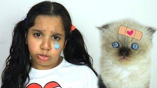 قصة بوو بوو من شفا وقطتها الصغيرة !!
