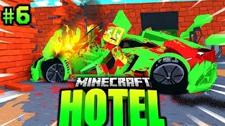 1.500.000€ LAMBORGHINI vom VERMIETER GECRASHT?! - Minecraft HOTEL #06 [Deutsch/HD]
