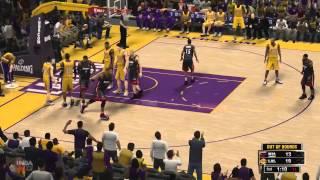 NBA 2K13 Gameplay: LA Lakers vs Miami Heat (Xbox 360/PS3/PSP/PC)