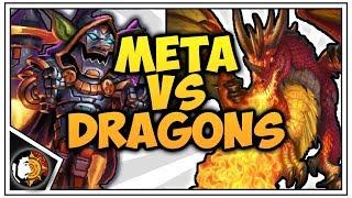 Hearthstone: Dragon Warrior Vs Meta Warrior - Rise Of Shadows