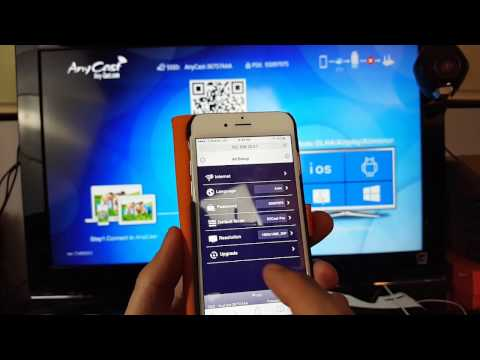 How to Setup Anycast Device to HDTV for Airplay on iPhones- Step by Step!