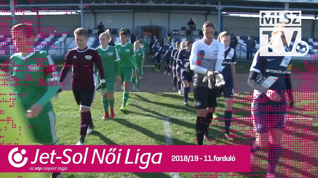 MTK Hungária FC - Haladás Viktória | 1-0 | JET-SOL Liga | 11. forduló | MLSZTV