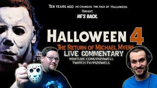 HALLOWEEN 4: THE RETURN OF MICHAEL MYERS Live Commentary