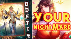 My Ultimate Skill is Your Nightmare!! Top 1 Global Odette 2020 | Odette Best Build 2020 by Light