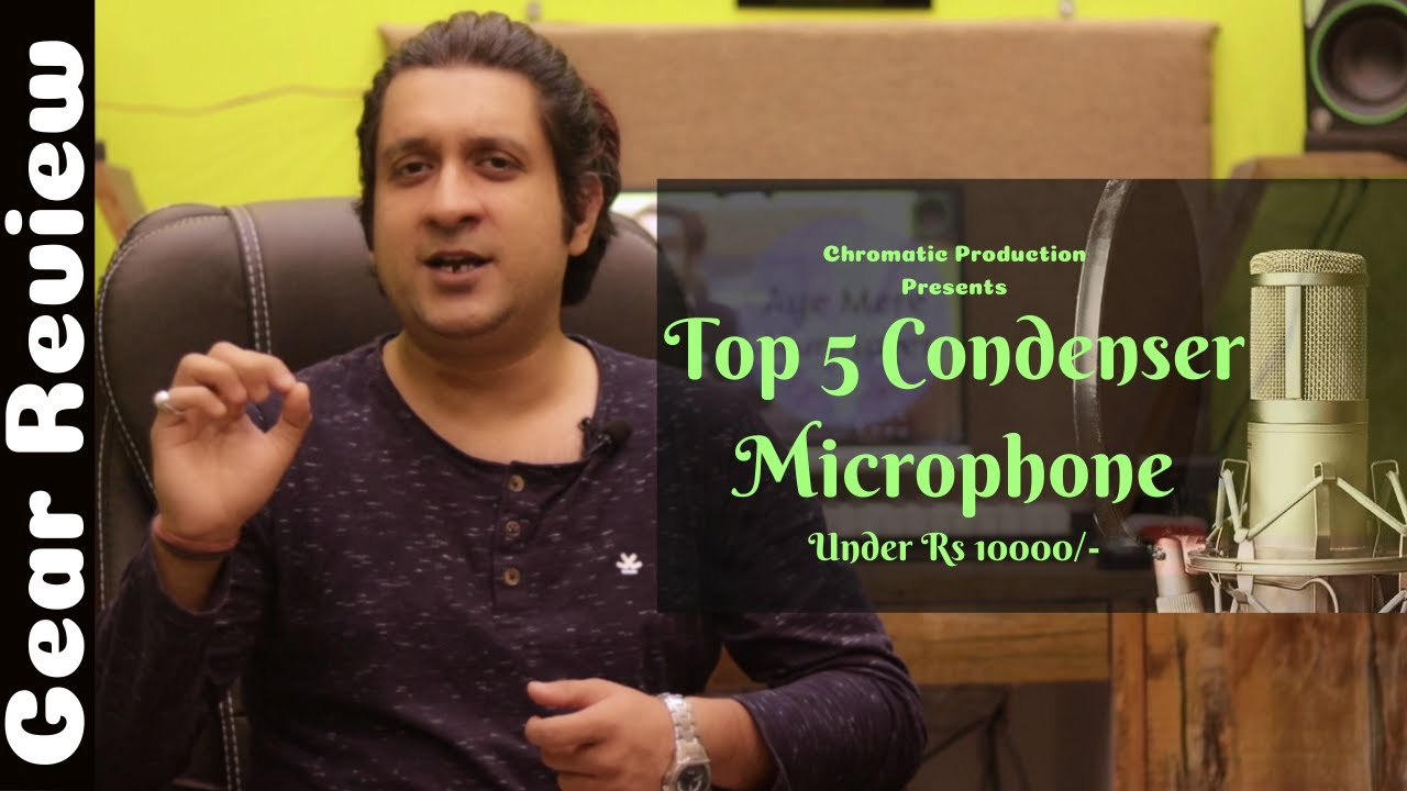 Top 5 Microphone Under Rs 10000/- | Condenser Microphone | Best Budget Microphone | Vikas Suman ||