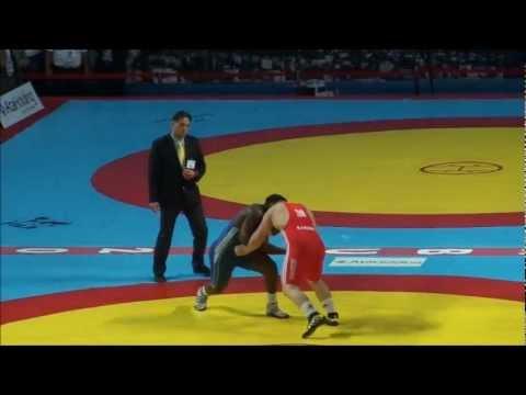 2011 Senior Wrestling World Championships - GR 120 KG, Kayaalp (Turkey) vs Lopez (Cuba)