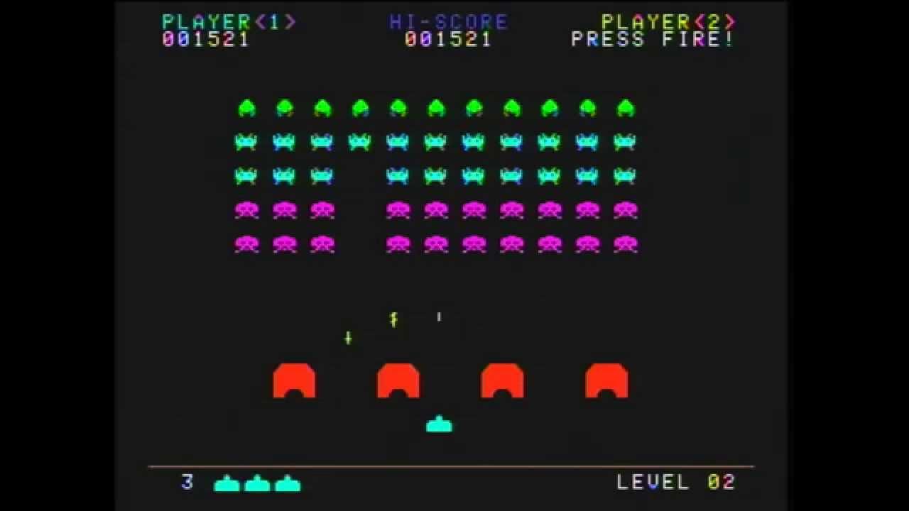 AtGames Atari Flashback 6: Space Invaders - YouTube