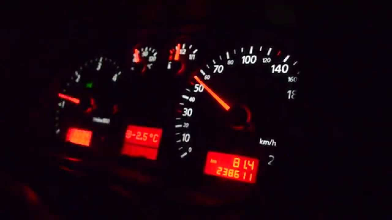 Audi a3 8l 1 9 tdi asz 50 120km h 3 gear youtube for Mueble 2 din audi a3 8l