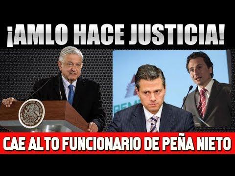 NOTICIA DE ULTIMA HORA ¡CAE ALTO FUNCIONARIO DE PEÑA NIETO! AMLO CUMPLE