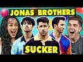 College Kids React To Jonas Brothers - Sucker
