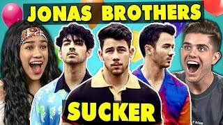 College Kids React To Jonas Brothers Sucker MP3