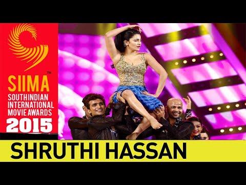 Shruti Hassan Sizzling Dance Performance    SIIMA