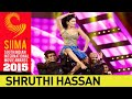 Shruti Hassan Sizzling Dance Performance SIIMA 2015 Awards Telugu