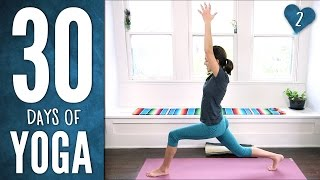Download Video Day 2 - Stretch & Soothe - 30 Days of Yoga MP3 3GP MP4