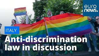 Italian human rights fight: New laws proposed to tackle discrimination against women & LGBTI people