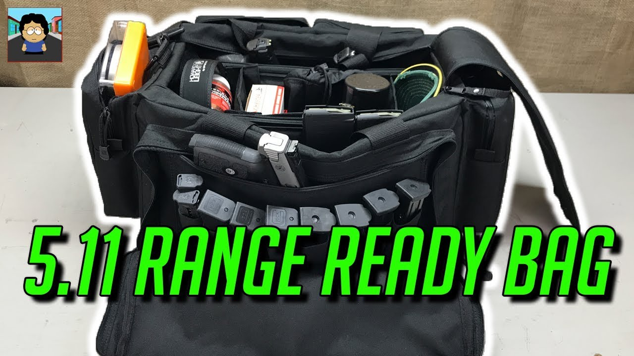 Shooting Range Bag Review 5 11 Ready