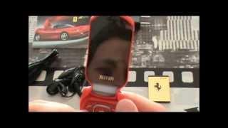 Telefono Movil Diseño, Forma de Ferrari