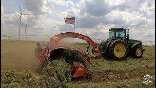 MERGING & CHOPPING 1st Cutting Alfalfa
