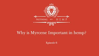 Why Myrcene is important in your hemp.