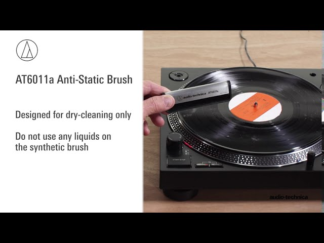 Turntable Cleaning Tutorial | Audio-Technica Record Care Products