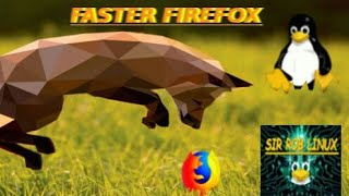 Firefox mais rápido no Linux - Detalhes na descrição - Ativar OpenGL e usar vários núcleos