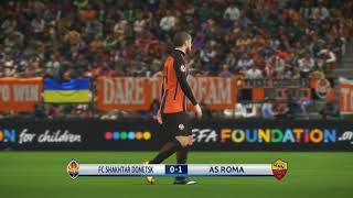 Download Video Shakhtar Donetsk vs AS Roma | UEFA Champions League 2017/2018 | 21/02/2018 PES 2018 MP3 3GP MP4