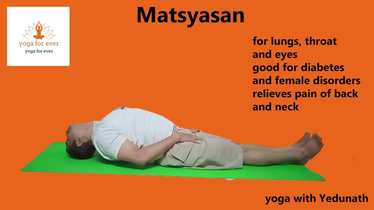 Matsyasana | Fish posture - YouTube