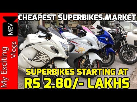 SUPERBIKES STARTING AT RS 2.80/- LAKHS (HAYABUSA, FIREBLADE, ROCKET, HARLEY DAVIDSON, Z800 , BENELLI
