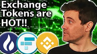 Exchange Tokens: More Gains or Overvalued??