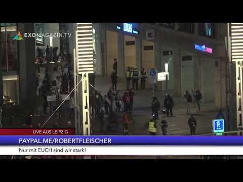 Querdenken Demo in Leipzig - 7.11.2020
