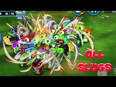 ALL SLUGS GAMEPLAY! - SLUG ENERGY! - SLUGTERRA SLUG IT OUT 2 GAMEPLAY!