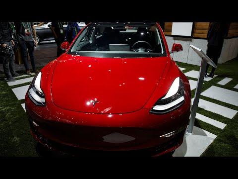 Tesla Stock Closes At Record High