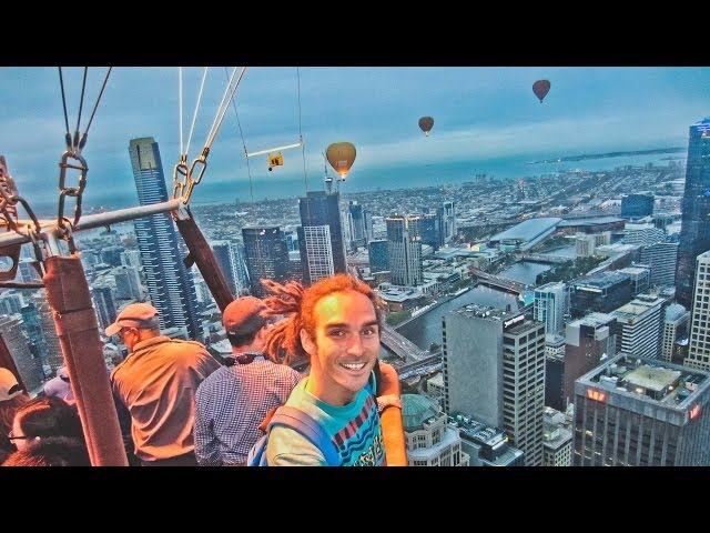 High on life over Melbourne!