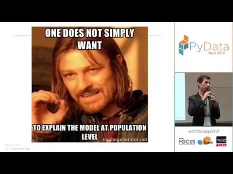 PyData 2015 - Why and how to explain machine learning predic