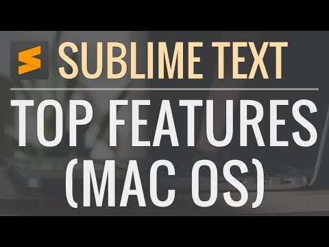 Best Sublime Text Features and Shortcuts (Mac)