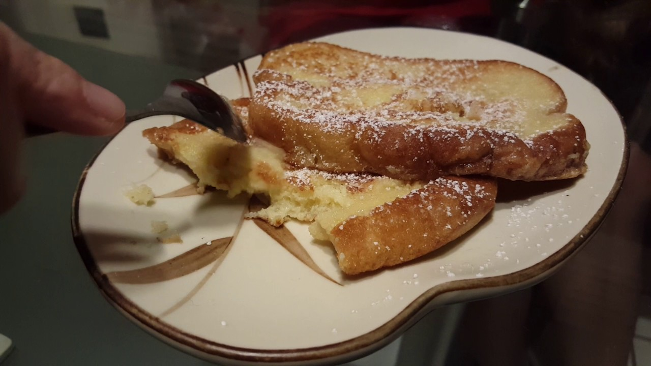 Korean Style Homemade French Toast Delicious Dessert
