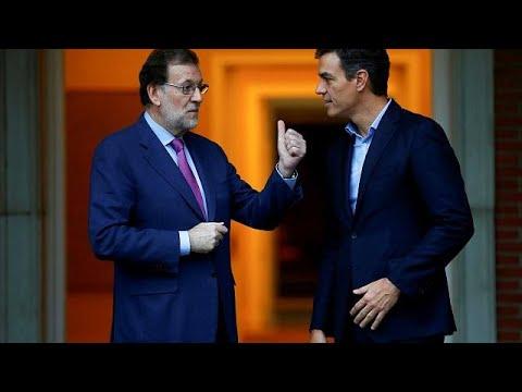 PSOE apresenta moção de censura contra Rajoy